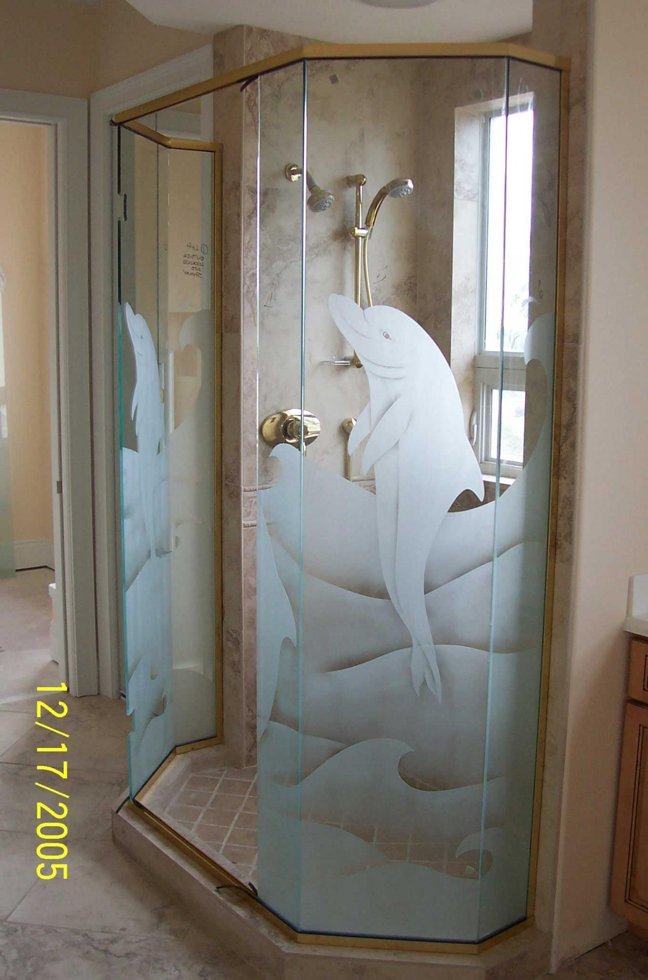 Etched glass designs for Frosted glass designs