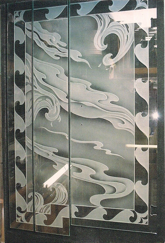Artfully Yours Glass Studio Carved Glass